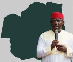 Okorocha assures Mbaise people more dividends of Democracy.