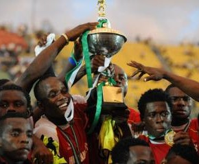 SPORTS: As Heartland FC retains Federation cup 2 yrs in a row...