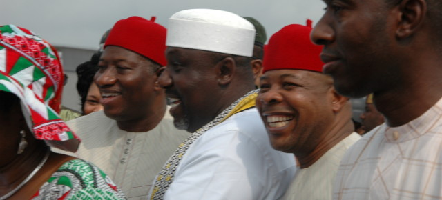 PHOTO NEWS: President Goodluck Jonathan's visit to Owerri, Imo state. (Feb 22nd, 2014)
