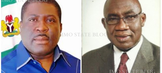 2015:  Between Madumere and Ejiogu, who should be Okorocha's running mate?