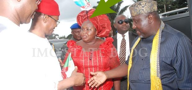 PHOTO OF THE DAY: LOL!!! Madam Josephine Udorji will not kill us!