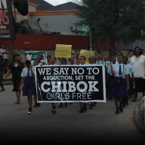 MISSING CHIBOK GIRLS: Teachers in  Imo state take protest to House of Assembly