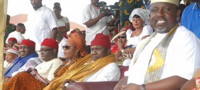 Okorocha vs Anyanwu reloaded: Details on the drama at Oru Owerre 2014.