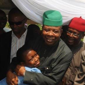 Former Deputy Speaker, Ihedioha returns home to his people.