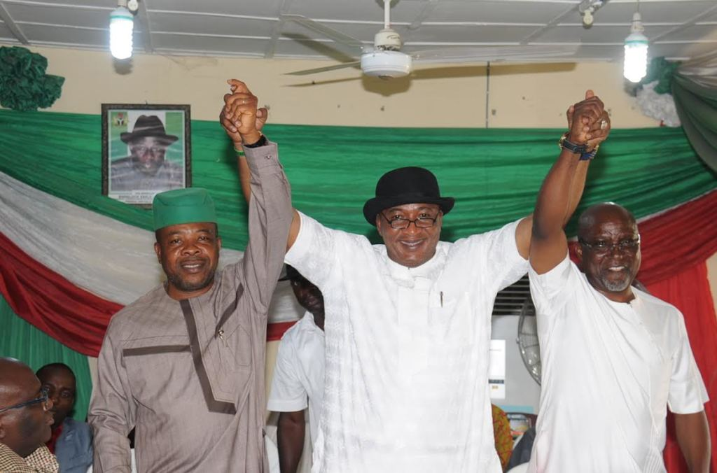 PDP Candidates and Chairman