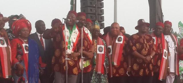PHOTOS: Flag -off of the PDP Presidential campaign in Owerri.