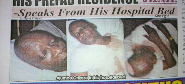Inside scoop on what led to Dr.Vitalis Ajumbe's broken head at Ohakim's residence.