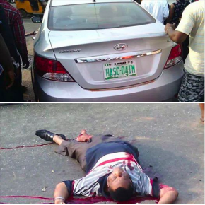 GRAPHIC: Commissioner (HASC), Tobby Onyekele murdered in cold blood in Owerri.