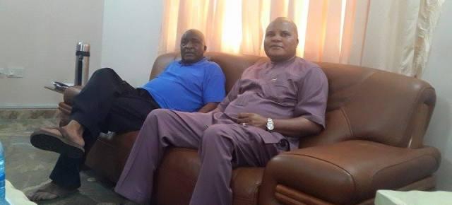 PHOTO OF THE DAY: Araraume, Udenwa resume talks.
