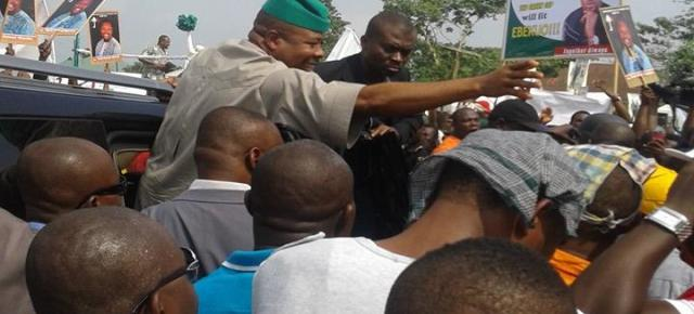 Ihedioha meets with Imo indigenes in Aba, Abia state