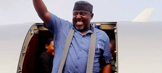 INEC declares Governor Rochas Okorocha winner, Imo governorship elections.