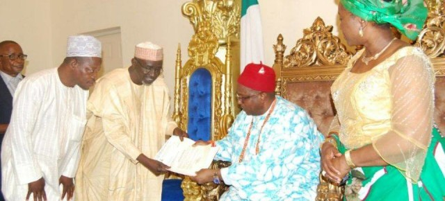 Eze Ilomuanya receives appointment letter as Chancellor.
