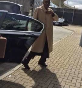 AIRPORT SCENE: Buhari shuns Rolls Royce from Nigerian High Commission, UK