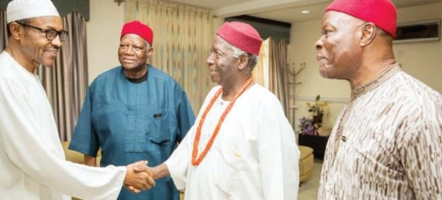 Details from the meeting between Gen.Buhari and Ohaneze Ndi igbo.
