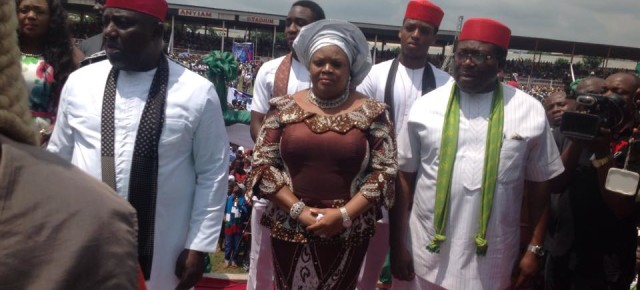 PICTURES: Governor Rochas Okorocha's second inauguration ceremony.