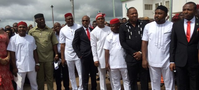 PHOTOS: Inauguration of the Imo State 8th house, 3rd assembly.