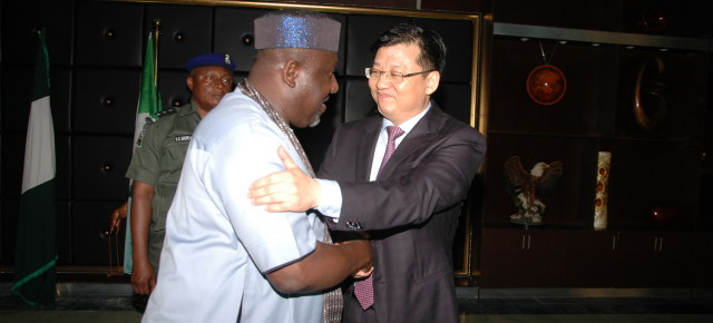 PHOTOS: Consul-General of China, Liu Khan visits Imo state. (Details of the visit)