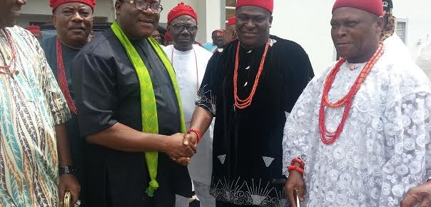 IMO TRADITIONAL RULERS EXTOL MADUMERE'S LEADERSHIP QUALITIES