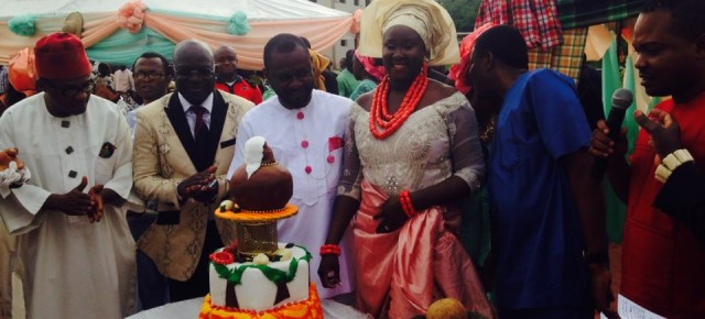 PHOTOS: Former Imo Speaker, Ike C. Ibe remarries.