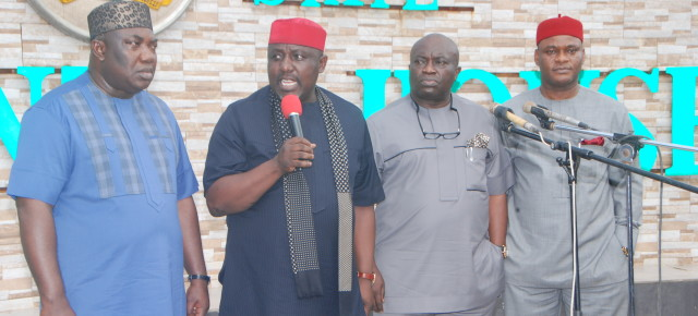 Details of the South-east Governors meeting in Owerri.