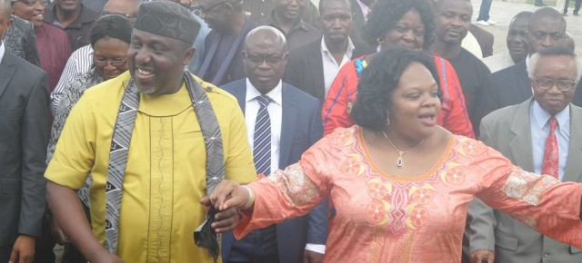 Pictures from the surprise birthday bash for Governor Okorocha at 53.
