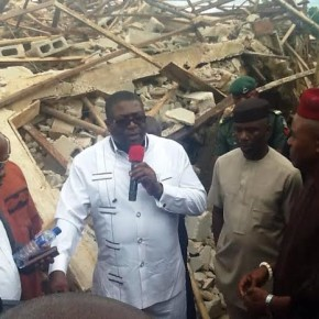 COLLAPSED BUILDING: IMO GOVT. ORDER ARRESTS OF OWNER.