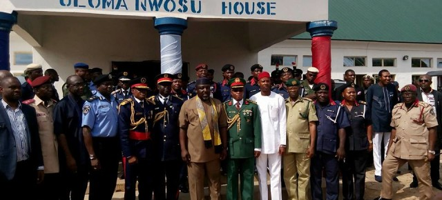 NSCDC, Imo Command holds thanksgiving ceremony.