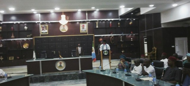 Government Liason Officers inaugurated in Imo State.