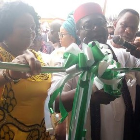 Governor Okorocha commissions Nneoma Skills Acquisition center.
