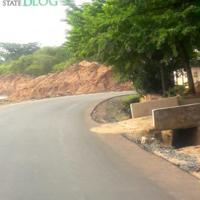 New pictures of 'dreaded spot' on Dick Tiger Road, Owerri.