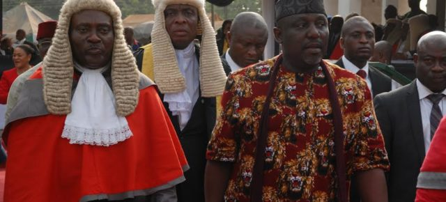 Okorocha pledges to sustain cordial relationship with Judiciary.