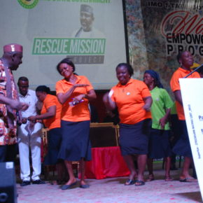 Governor Okorocha flags off Women Empowerment Programme